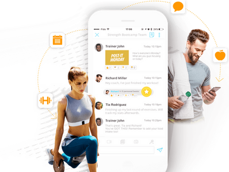 Fusion5 Online Fitness App        Motivates Women to Jump Start Their Fitness & Nutrition