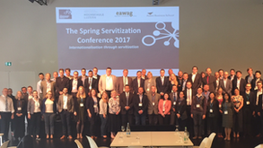 Spring Servitization Conference 2017: Internationalisation through Servitization