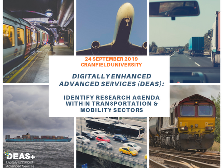 Workshop: Identify the DEAS Research Agenda within Transportation & Mobility Sectors