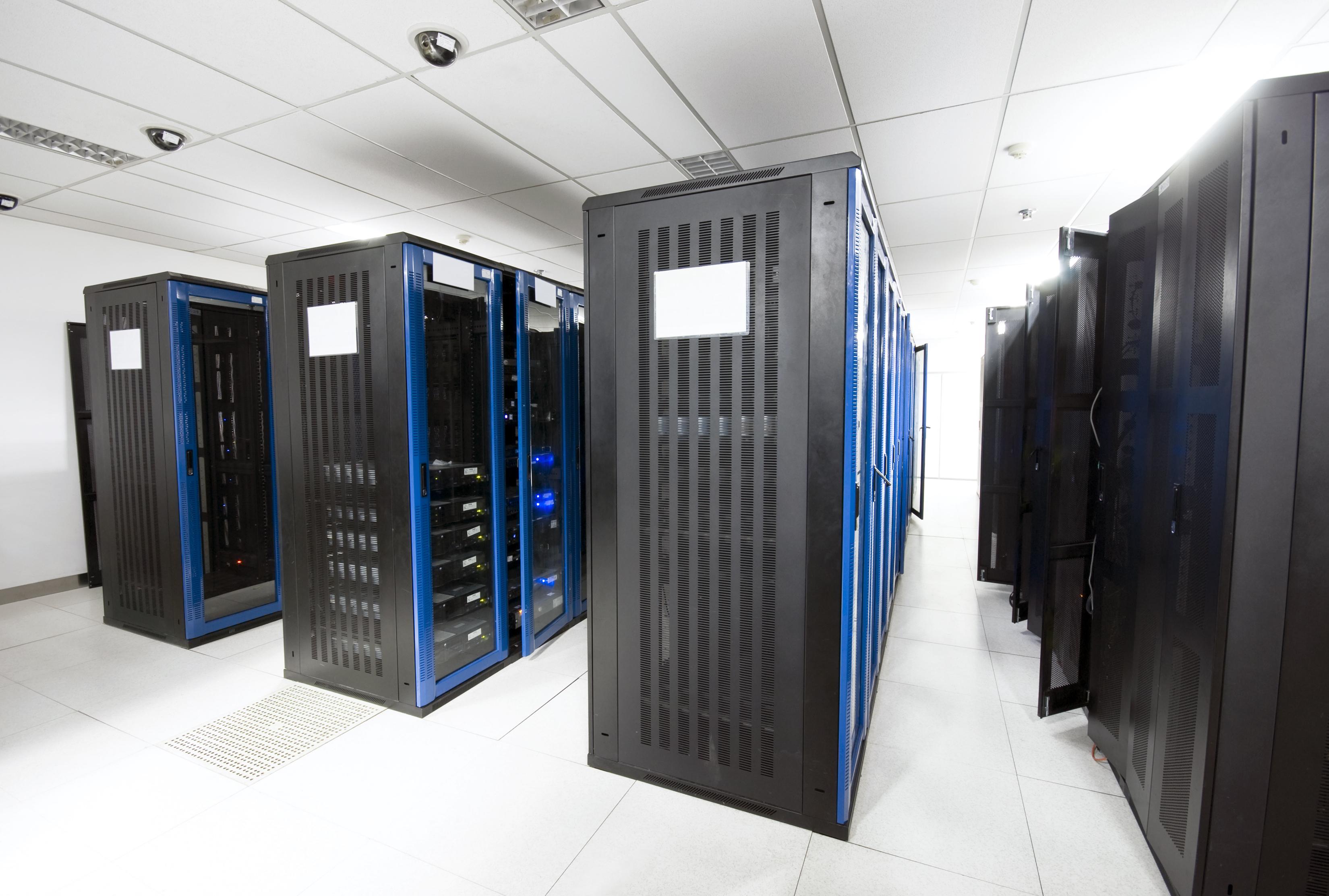 A server room with black servers.jpg