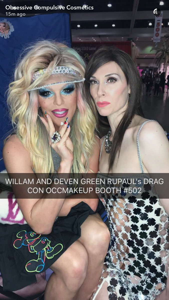 Deven Green Willam Occmakeup