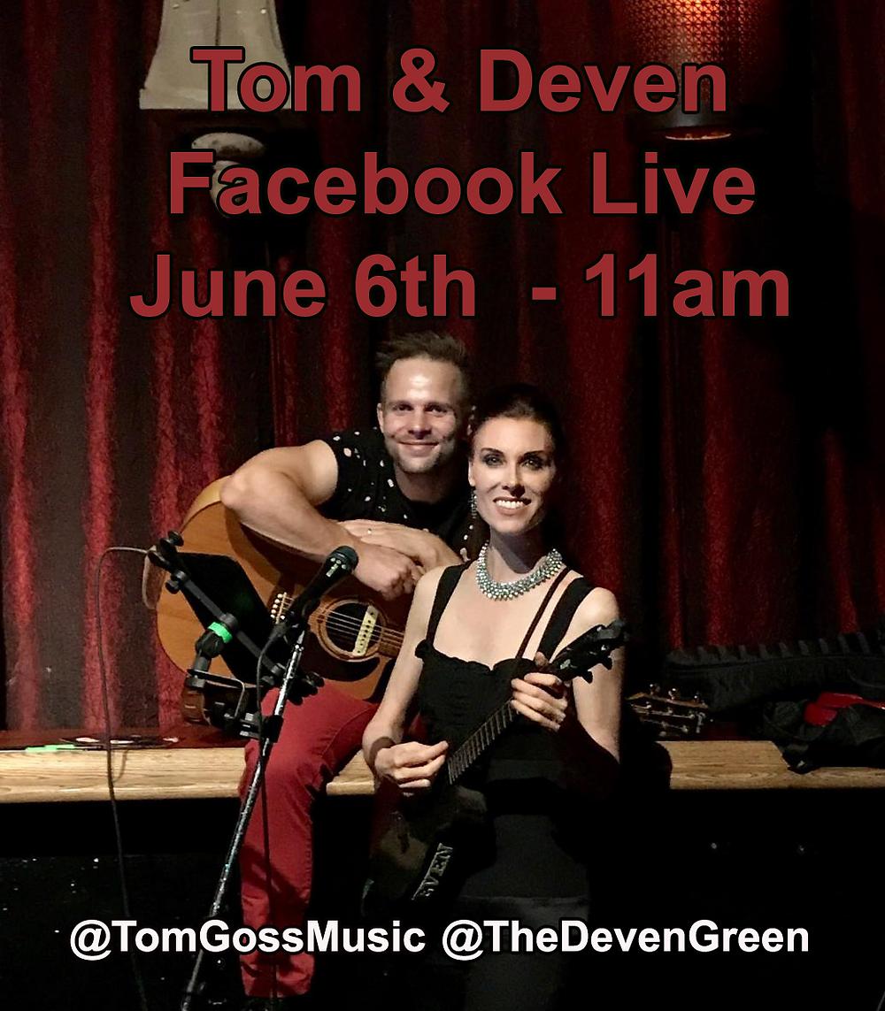 Deven Tom FAcebook live