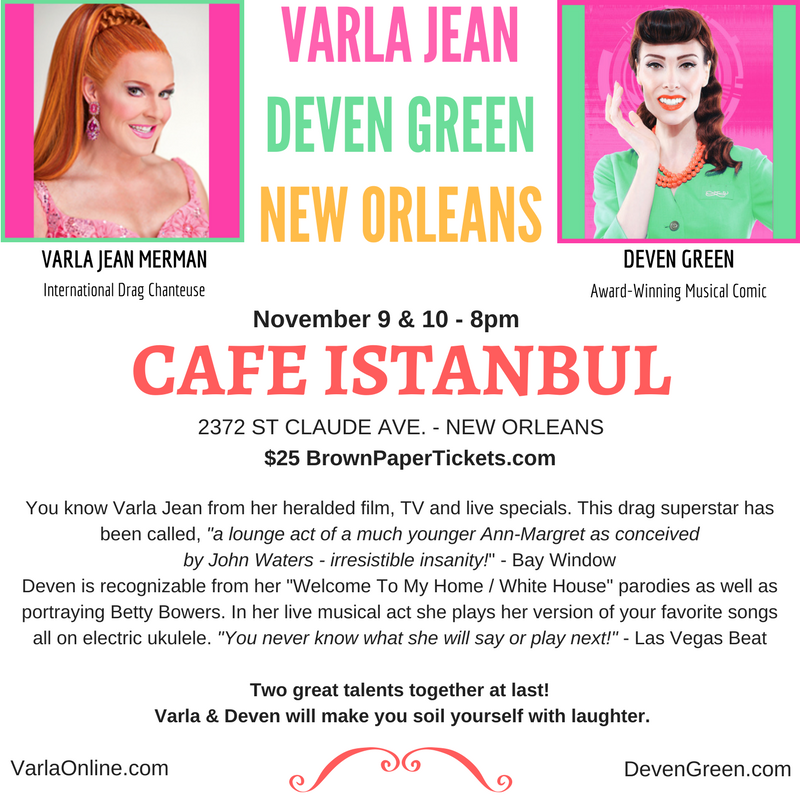 Deven Green Varla Jean New Orleans Cafe Istanbul