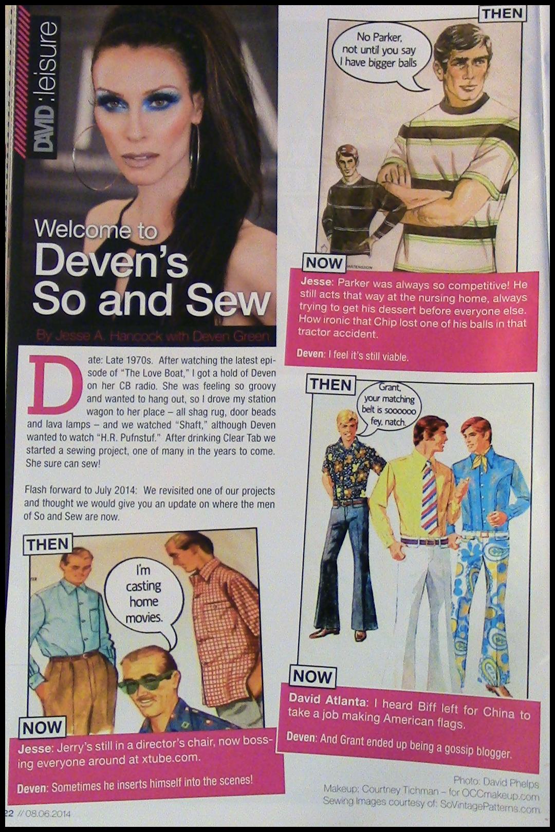 david magazie page 1