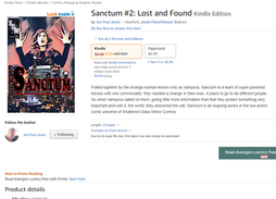 Sanctum on Amazon
