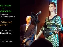 FB Live w/ Nelson Aspen 9/27 6pm