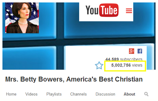 betty bowers 5 million views