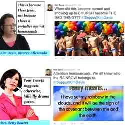 kim davis rainbows bb