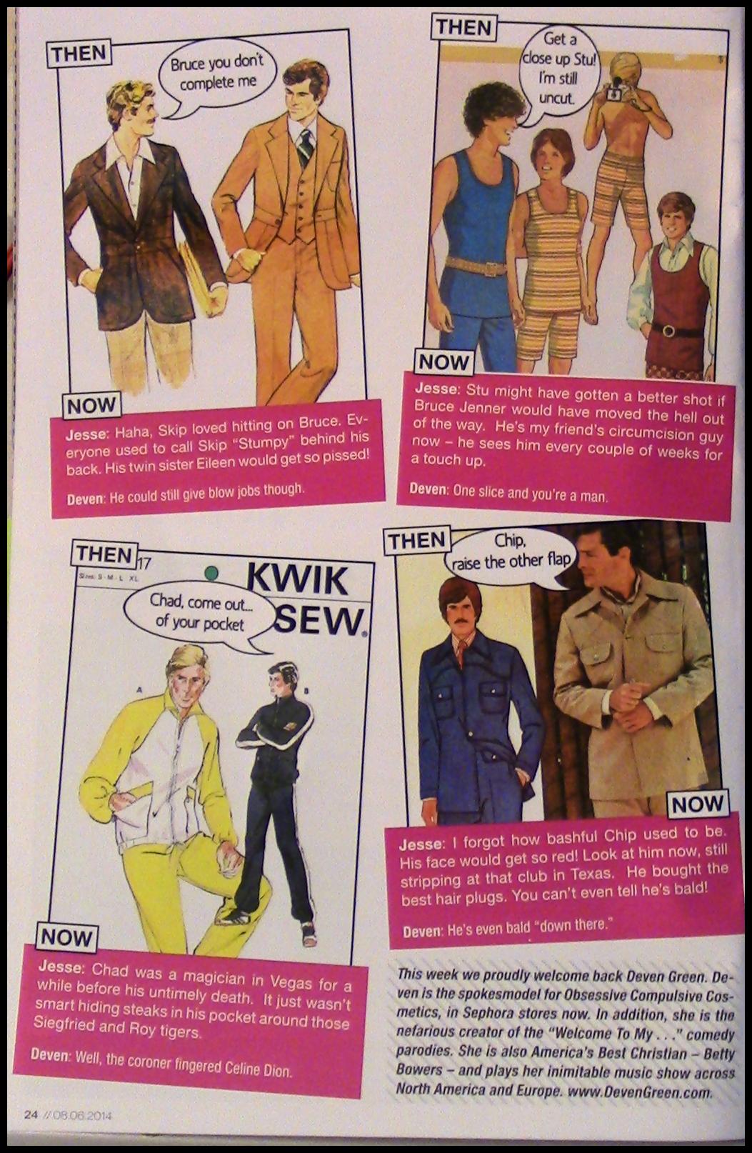 david magazine page 2