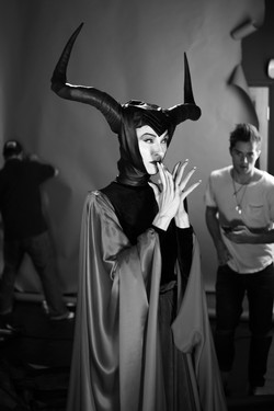 Deven Green as Maleficent