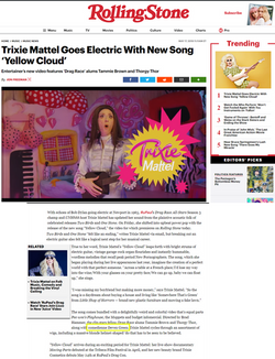 Rolling Stone Deven Green Trixie Mattel