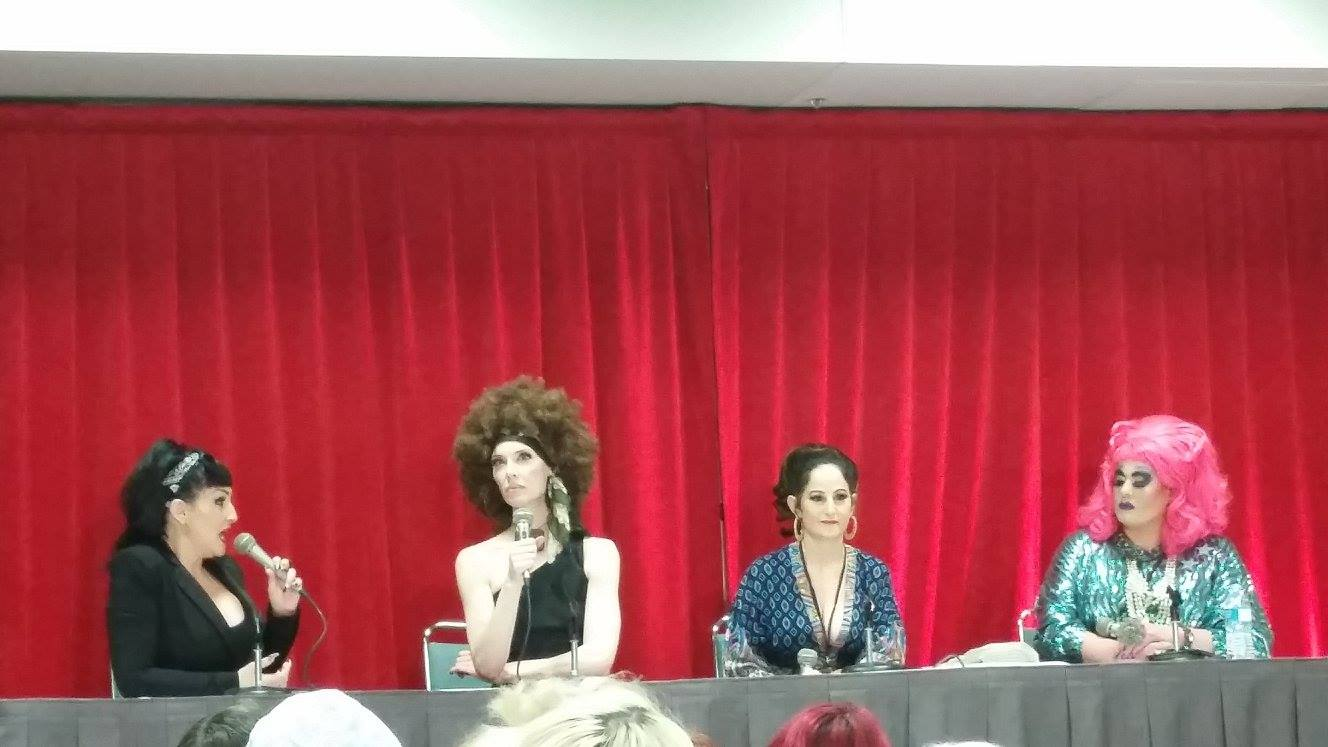 Deven Green RuPaul's Dragcon Panel.