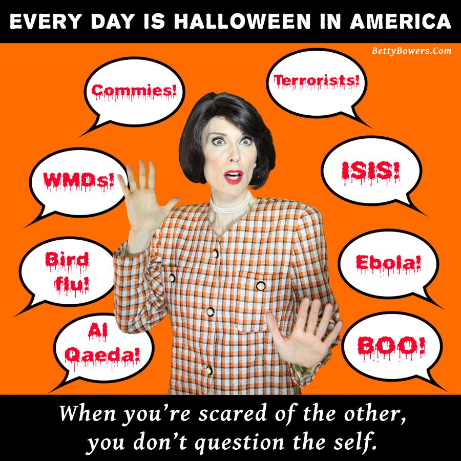 halloween frights betty bowers