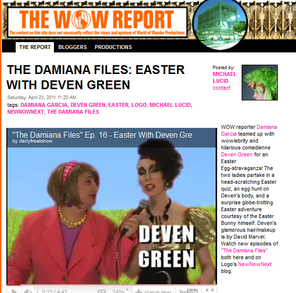 Damiana Garcia  Deven Green Easter