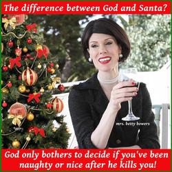 god and santa bb