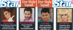 Deven Green Star Magazine Style Squa