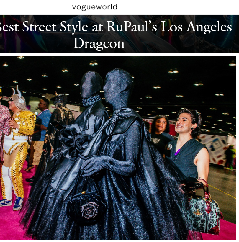 vogue online deven ridge dragcon 2019 sh