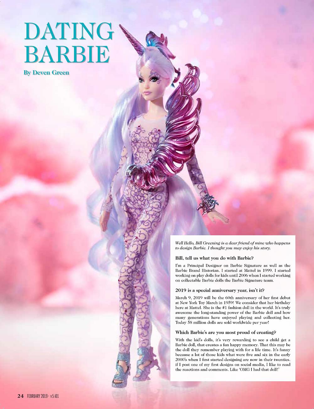 Deven Green Barbie Bill Greening