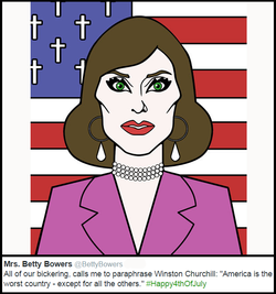 betty bowers 4th of july