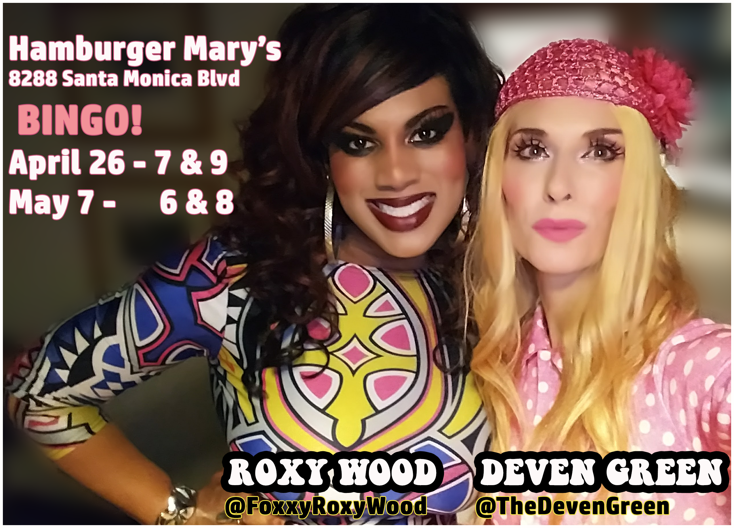Deven Green Roxy Wood Bingo