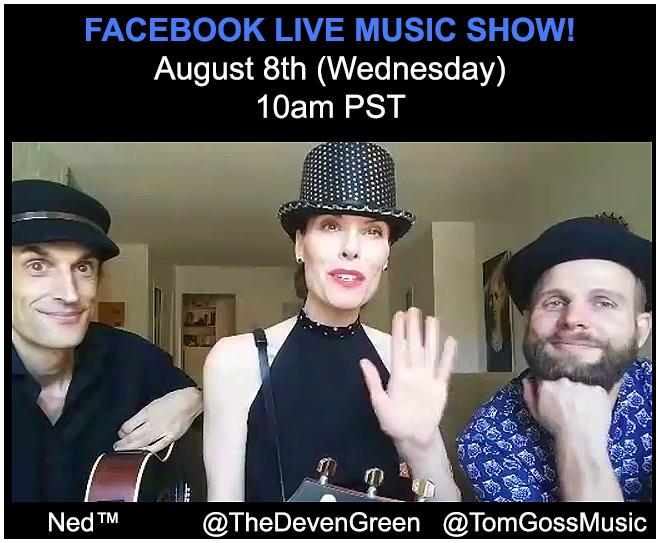 Deven Green Tom Goss Live Acoustic Music
