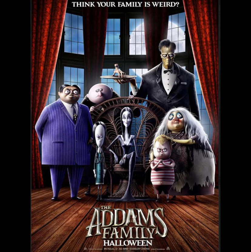 Addams Family Halloween Deven green
