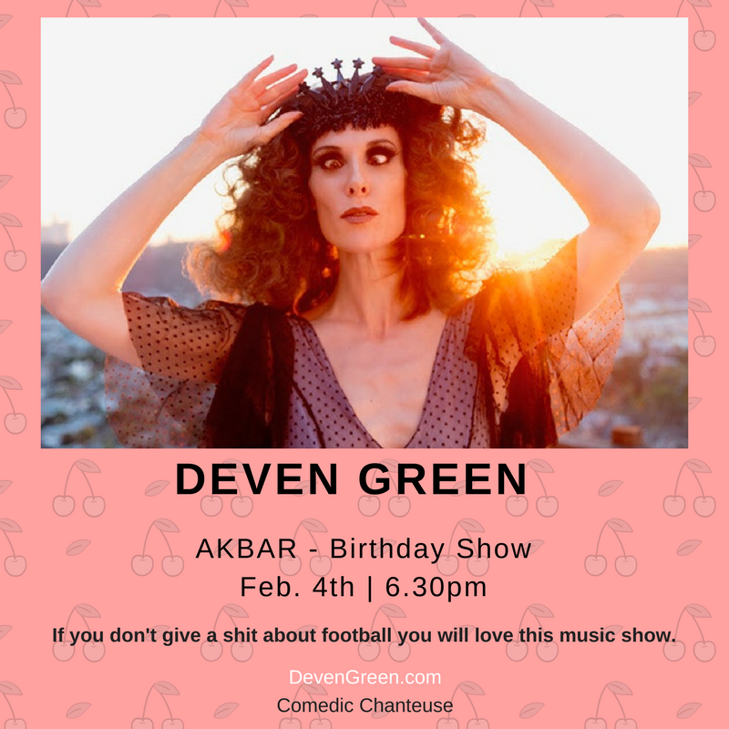 Deven Green Superbowl Akbar