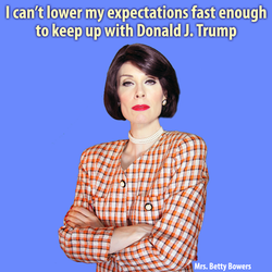 lower trump expectations