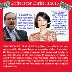 huckabee grifter 2015