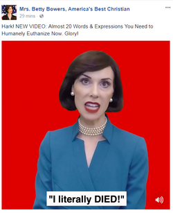 Betty Bowers Deven Green speak english you first
