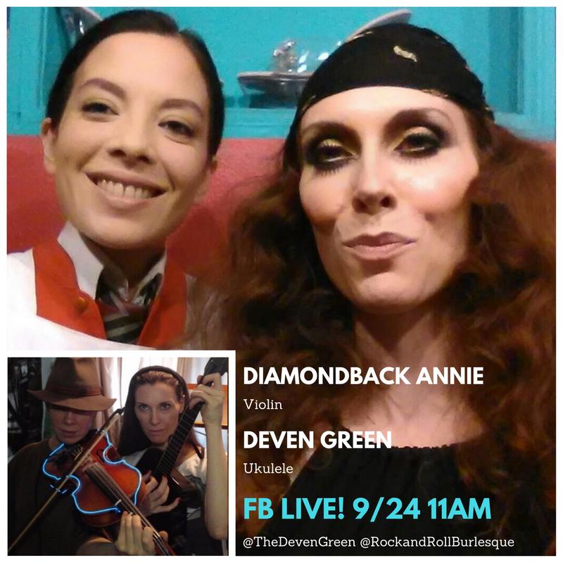 Deven Green Diamondback Annie Violin Ukulele