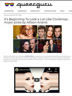 2020 California Christmas song pick