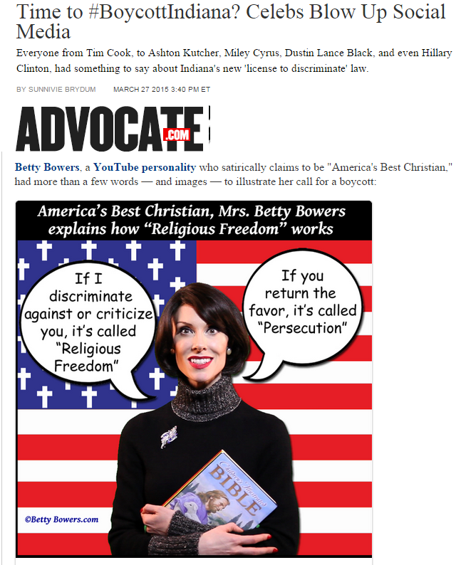 boycot indiana the advocate