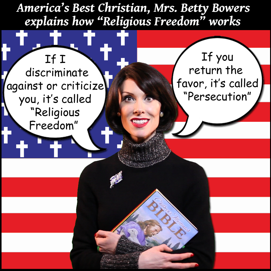 RELIGOUS FREEDOM betty bowers
