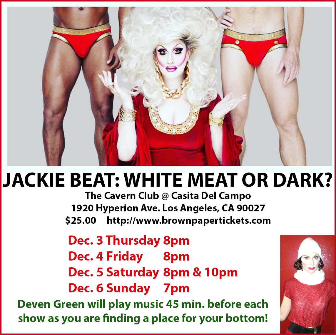 Deven Green Jackie Beat Christmas