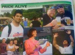 Deven Green Green Bay Pride