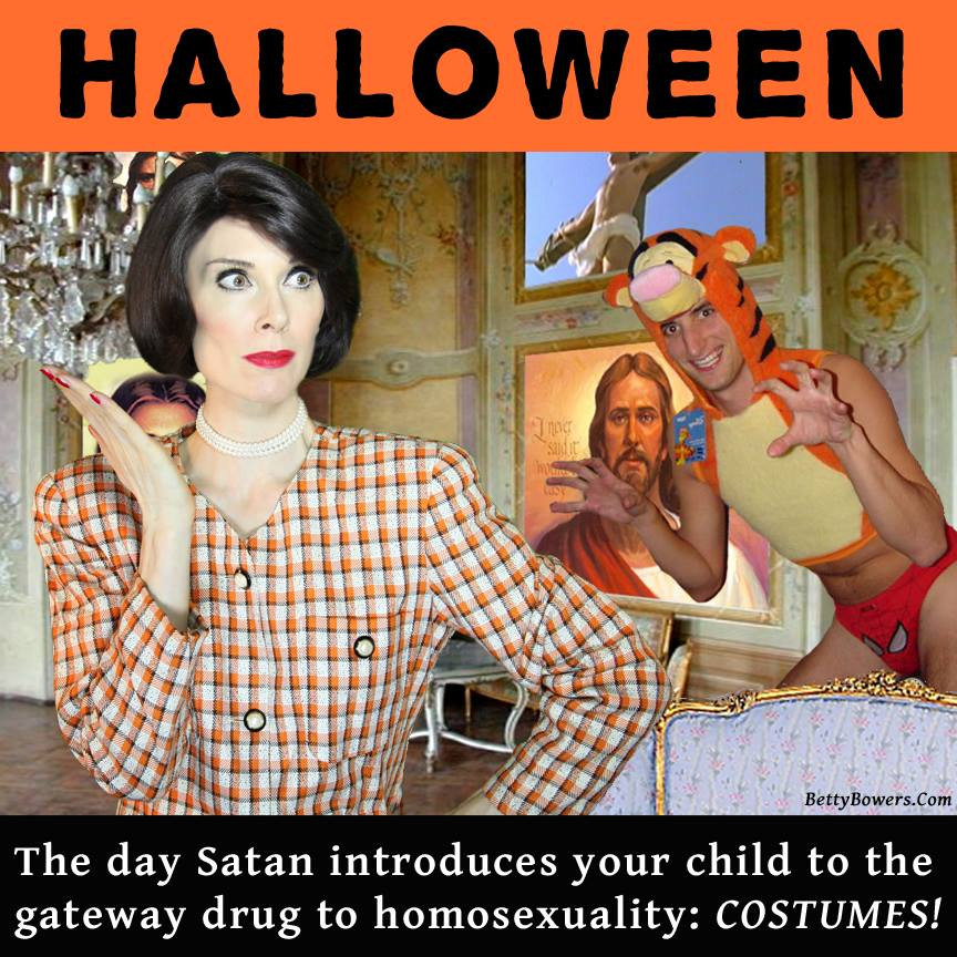 Happy Halloween video - Betty Bowers