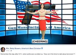 Betty Bowers on Guns
