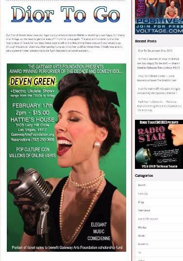 Deven Green Hattie's House Las Vegas