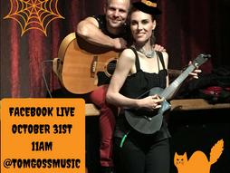 Join Deven & Tom Facebook  Live