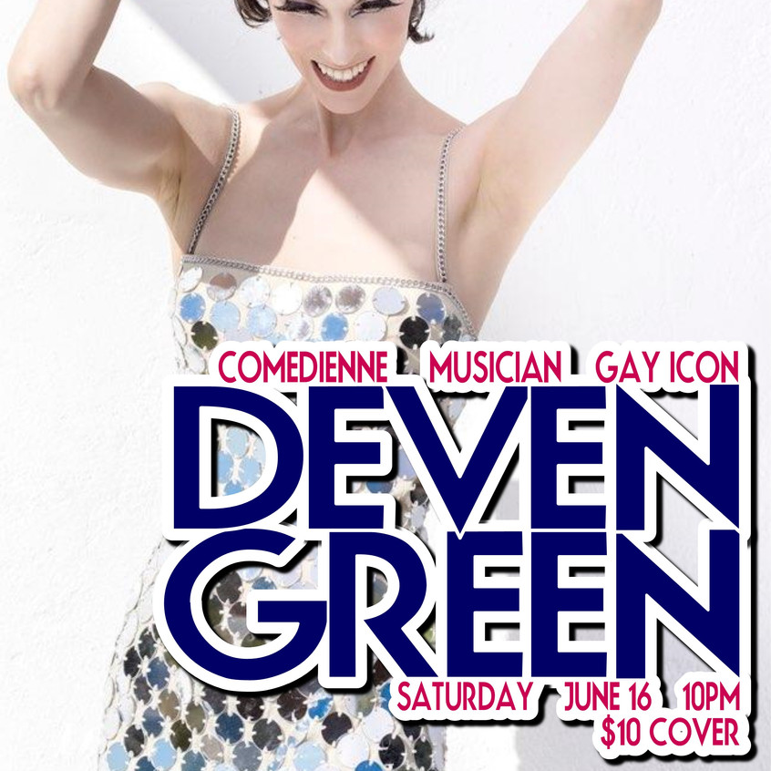DEVEN GREEN PRIDE 2018 DISCO DRESS
