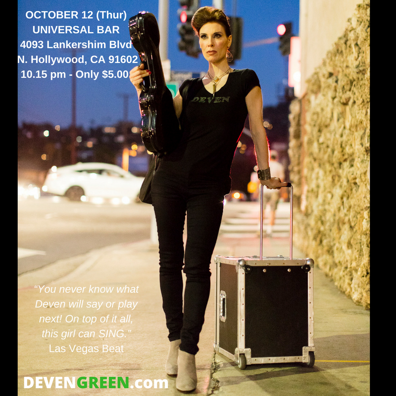 Deven Green Universal Bar and Grill Oct 12 Music Ukulele