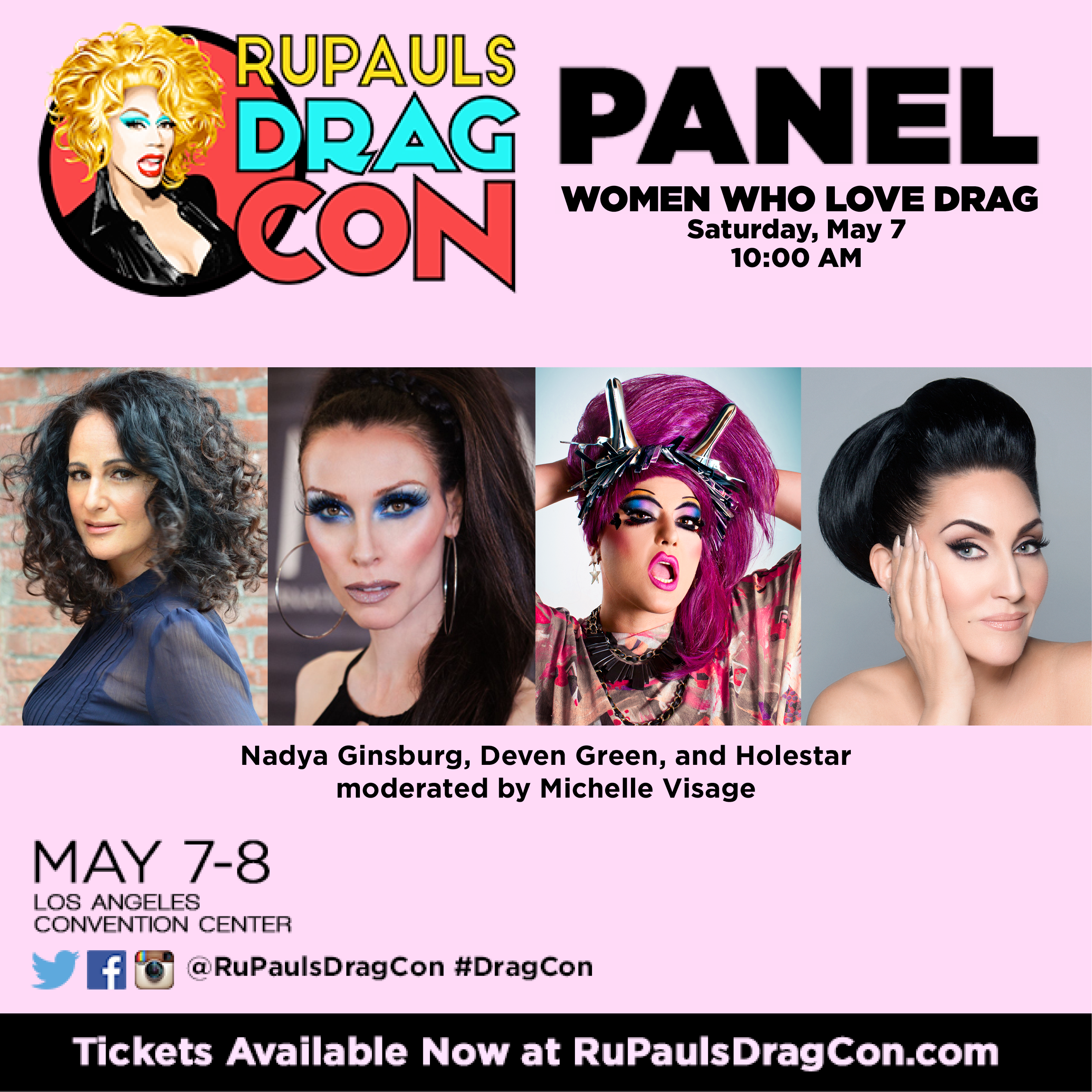 Deven Green Dragcon Panel