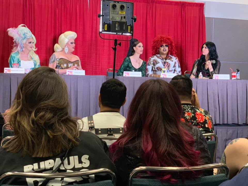 dragcon comedy panel meatball kelly pand