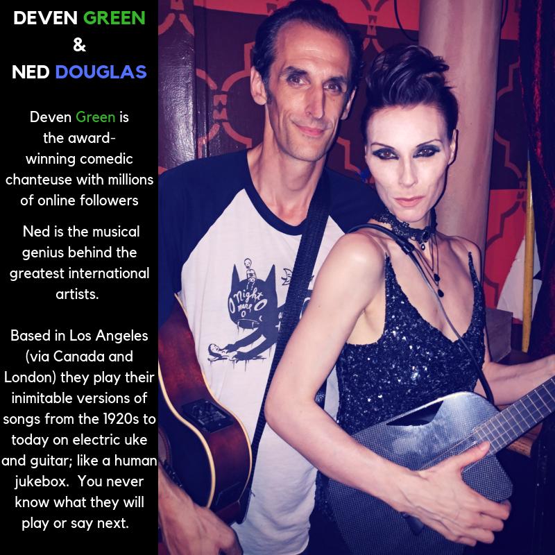 Deven green Ned Douglas Acoustic Music