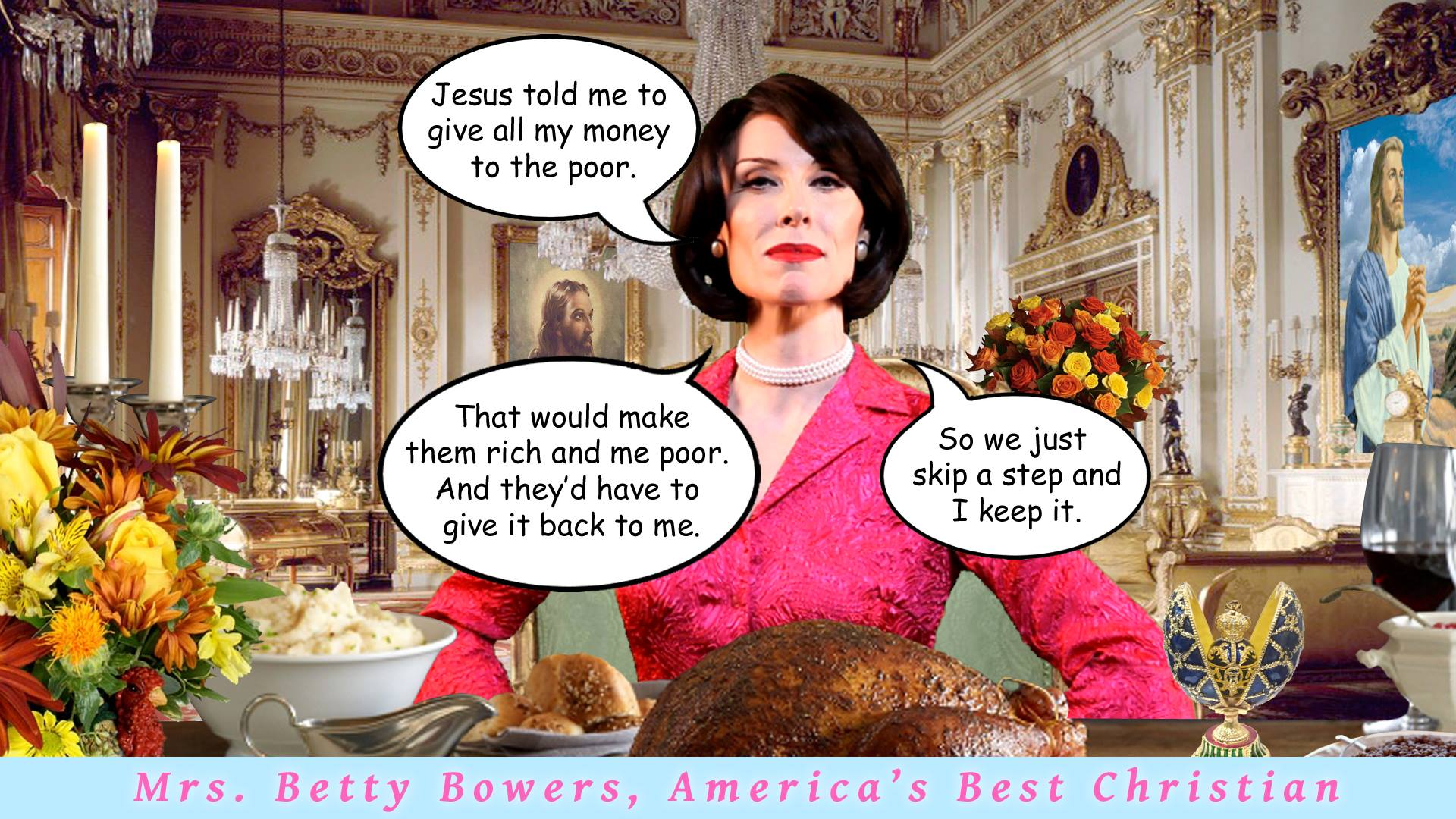 richer poorer betty bowers