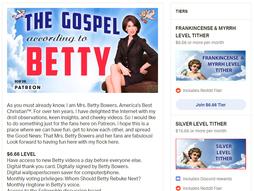 Betty Bowers on Patreon