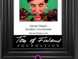 Tom of Finland Auctioneer 10/6