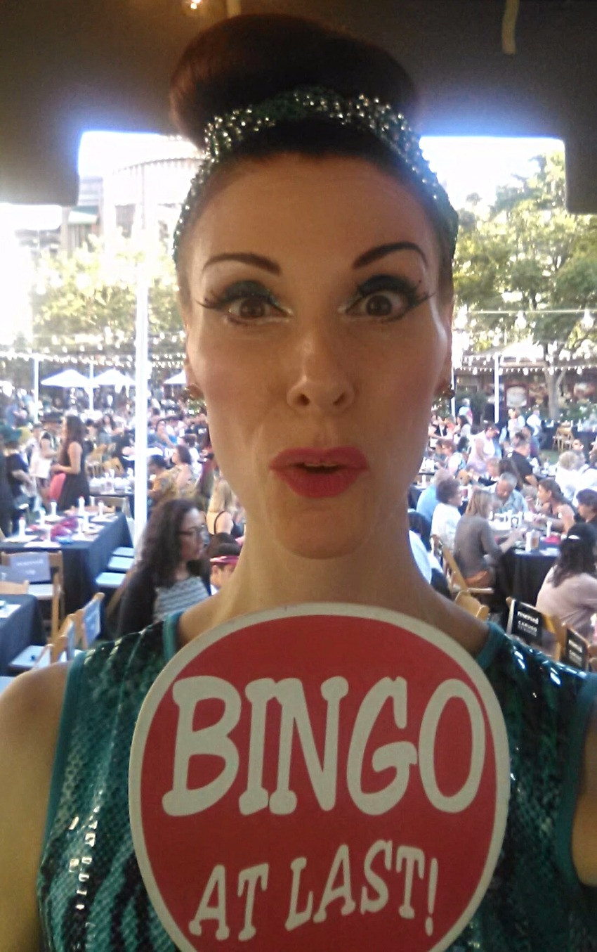Deven Green bingo Americana at Brand