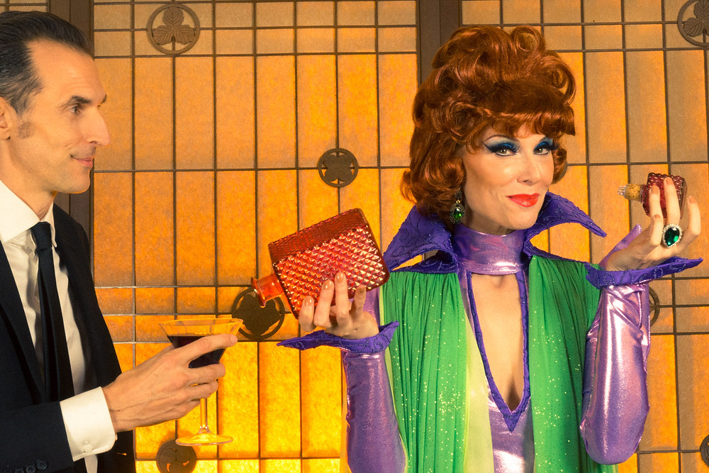 Drink up Deven Green Ned Douglas Endora Bewitched
